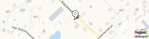 Корзинка на карте Жатая