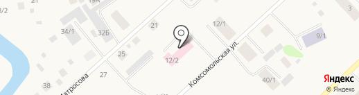 Детское отделение АСО№3 на карте Жатая