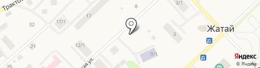 Мясная лавка на карте Жатая