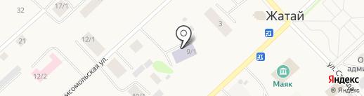 Детский сад №3 на карте Жатая