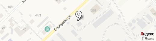 Жатайтеплосеть, МУП на карте Жатая