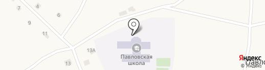Павловская средняя общеобразовательная школа на карте Павловска