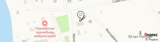 Диана на карте Павловска