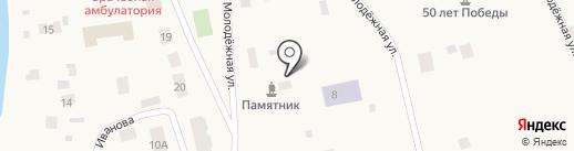 Банкомат, АКБ Алмазэргиэнбанк на карте Павловска