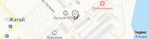 Почтовое отделение на карте Жатая