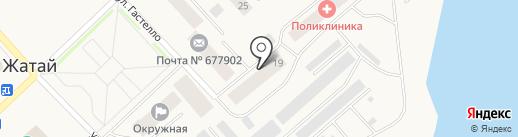 Общежитие на карте Жатая