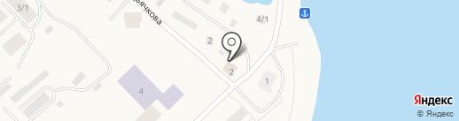 Причал на карте Жатая