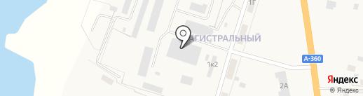 УФМС на карте Нижнего Бестях