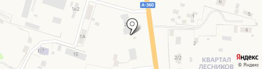 Шашлычная на карте Нижнего Бестях