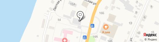 Ткани+ на карте Нижнего Бестях