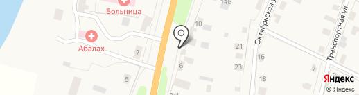 Магазин по продаже яиц на карте Нижнего Бестях