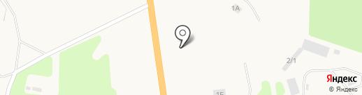 Шиномонтажная мастерская на ул. квартал Лесников на карте Нижнего Бестях