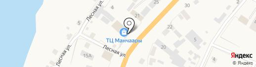 Магазин канцтоваров на карте Нижнего Бестях