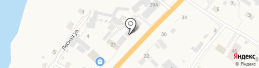 Платежный терминал на карте Нижнего Бестях