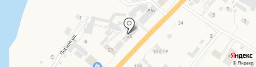 Магазин автозапчастей на карте Нижнего Бестях