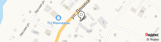 Авиакасса на карте Нижнего Бестях
