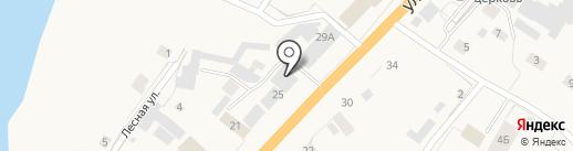 Наахара на карте Нижнего Бестях