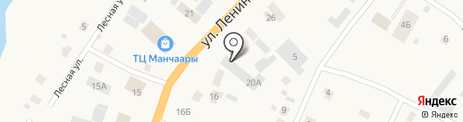 Маркет+ на карте Нижнего Бестях