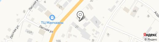 Якутский расчетный центр на карте Нижнего Бестях