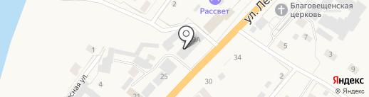 Сиибиктэ на карте Нижнего Бестях