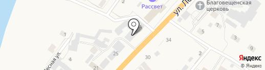 Qiwi на карте Нижнего Бестях