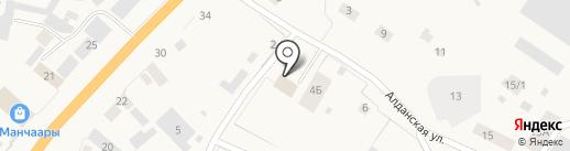 Пожарная часть №1 на карте Нижнего Бестях