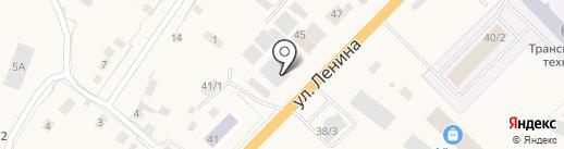 Склад-магазин крепежных изделий на карте Нижнего Бестях