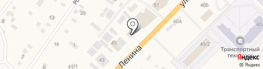 Туймаада-Лизинг на карте Нижнего Бестях