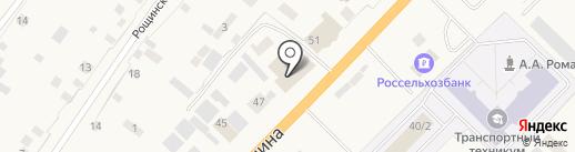 Центрстрой на карте Нижнего Бестях