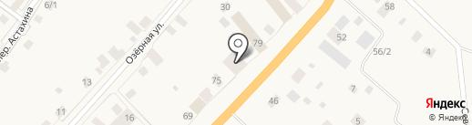 Магазин по продаже овощей и фруктов на карте Нижнего Бестях