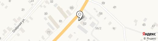 Амина на карте Нижнего Бестях