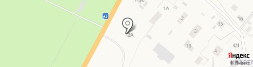 Дорожный на карте Нижнего Бестях
