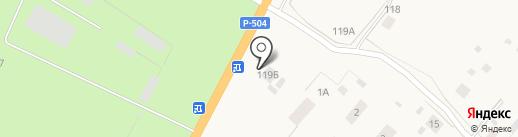 Магазин строительных материалов на карте Нижнего Бестях