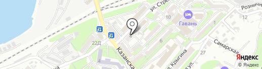 Глобус на карте Владивостока