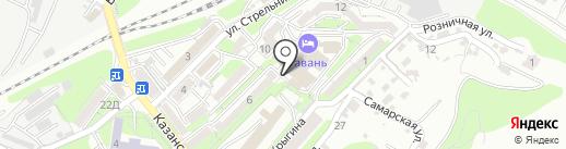 Портовый таможенный представитель на карте Владивостока