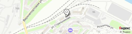 Сумма ДВ на карте Владивостока