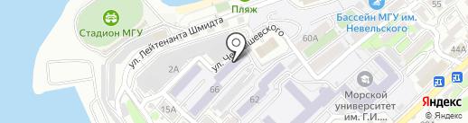 VL-груз на карте Владивостока