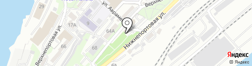 О5 на карте Владивостока