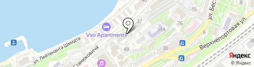 Отдел пенсионного обслуживания ЦФО УМВД России по Приморскому краю на карте Владивостока