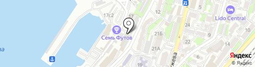 ЮрБизнесПартнер на карте Владивостока