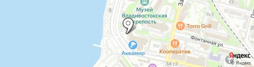 Нарджилия Лофт на карте Владивостока