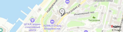 Альянс Франсез-Владивосток на карте Владивостока