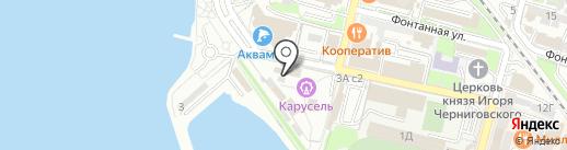 Фкусный Букет на карте Владивостока