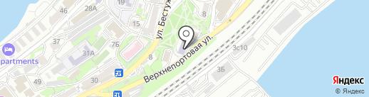 Дальневосточный государственный технический рыбохозяйственный университет на карте Владивостока