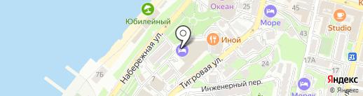 Три медведя на карте Владивостока