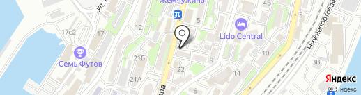 Квадраты на карте Владивостока