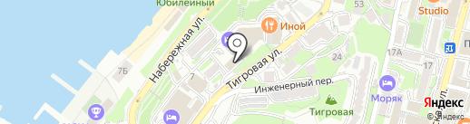 Дальневосточная академия госзаказа, АНО на карте Владивостока