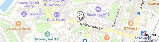 Первый овощной на карте Владивостока