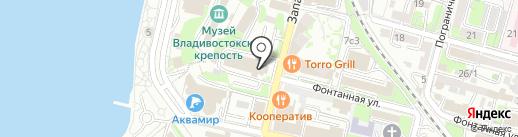 ДИНАМОвец на карте Владивостока