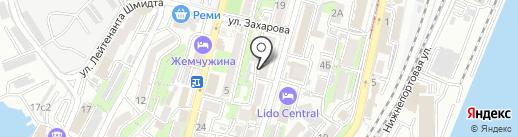 ГАРАНТСЕРВИС на карте Владивостока